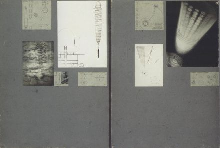 Georgii Krutikov, diploma portfolio for The Flying City (1928)