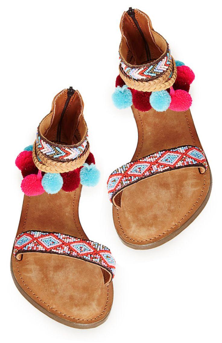 Boho Woven Sandals