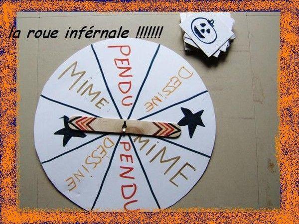"""jeu pour halloween: """"la roue infernale"""""""