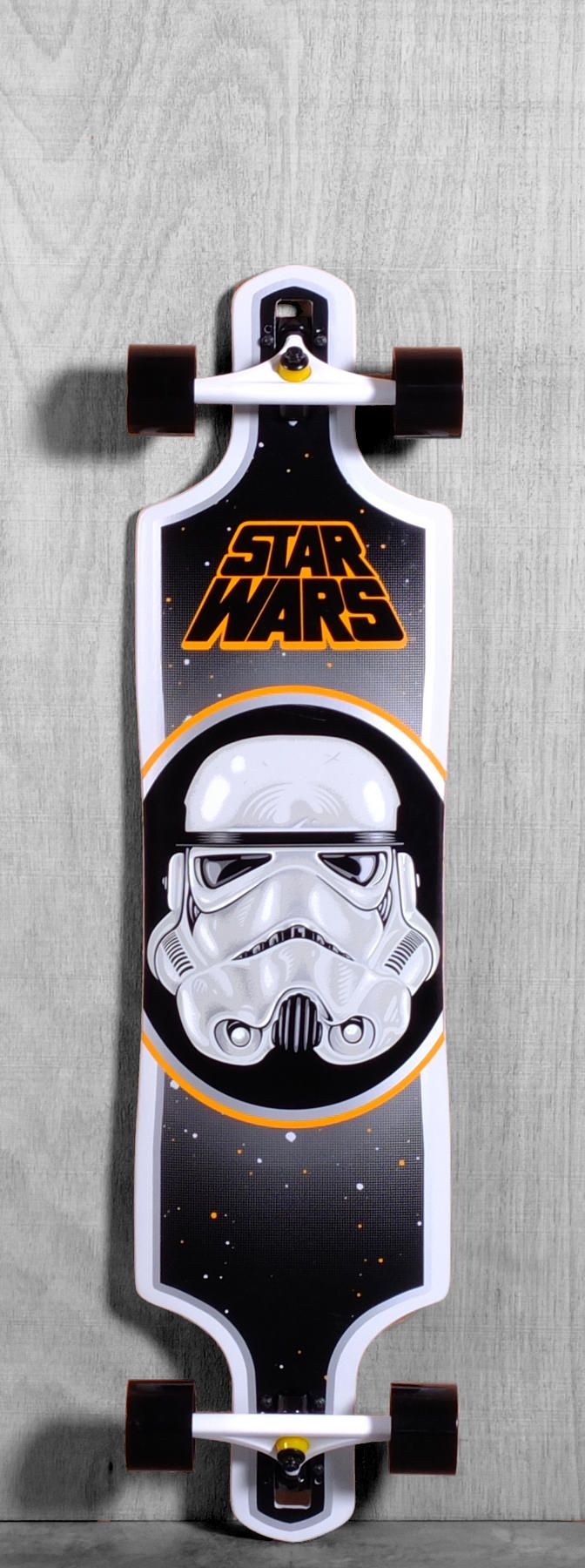 "Santa Cruz 40"" Star Wars Stormtrooper Longboard Complete"