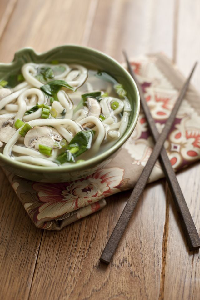 Easy Udon Noodle Miso Soup by thefamilykitchen: 15minutes! #Soup #Udon ...