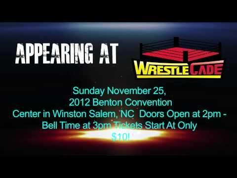 "See ""The Franchise"" Shane Douglas at WrestleCade on 11/25/12 In Winston Salem, NC."