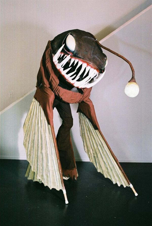 A Scary Deep Sea Angler Fish Costume