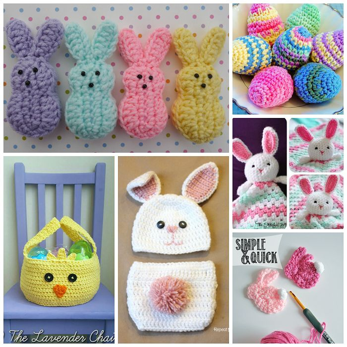 Free Easter Crochet Patterns to Make