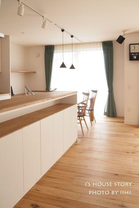 実例に学ぶ'回遊動線キッチン'のつくり方~間取り・インテリア・素材・設備~@大宮の家 | いいひブログ - いいひ住まいの設計舎