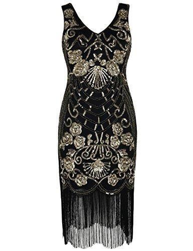 aba102c6380bfe Art Deco Cocktail 1920s Gatsby Dress in 2019   W o m a n 's F ...