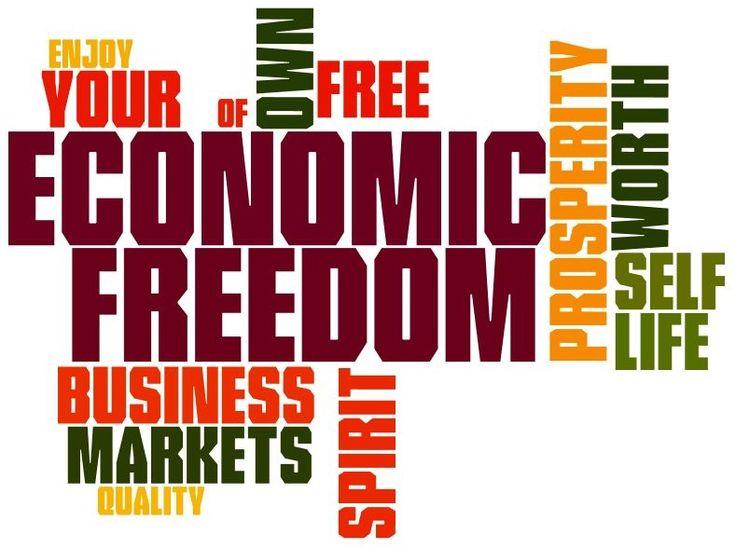 #EconomicFreedom #TaxFree #FreeMarket #Liberalism