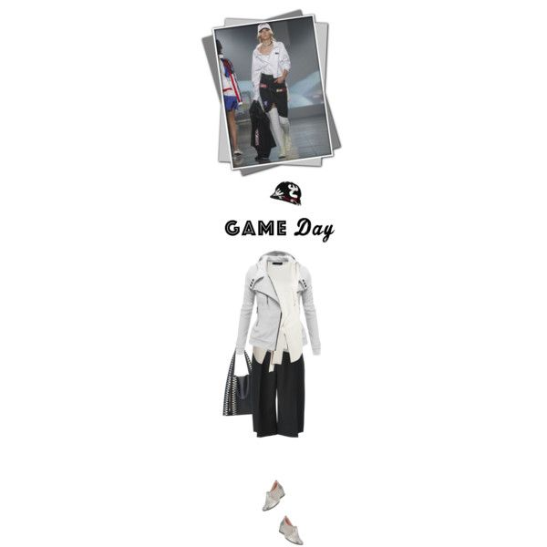 Game day by noconfessions on Polyvore featuring Calvin Klein Collection, Jil Sander, Taryn Rose, Elena Ghisellini, Love Moschino and VFiles