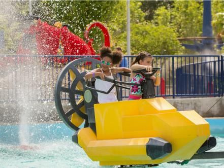 Beat the heat on one of these attractions, from iconic log flumes to the newest raft thrills.