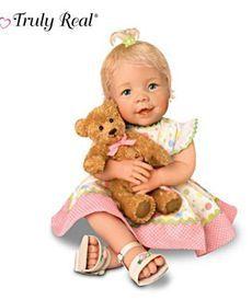 Виниловая кукла ребенок - Сладкое общение