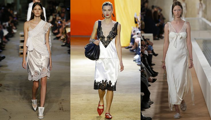 Détails lingerie - Spring/Summer Fashion Trends #2016