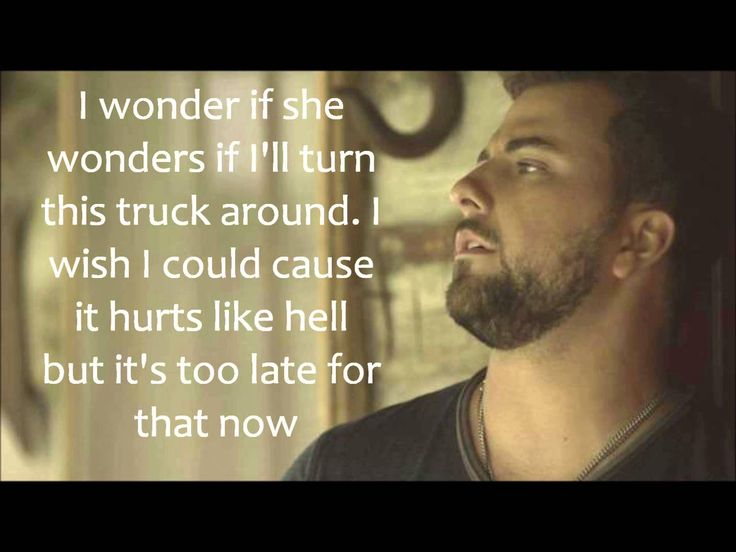 Hello Goodbye w/Lyrics by Tyler Farr is another one of those songs that I feel down. To my soul.