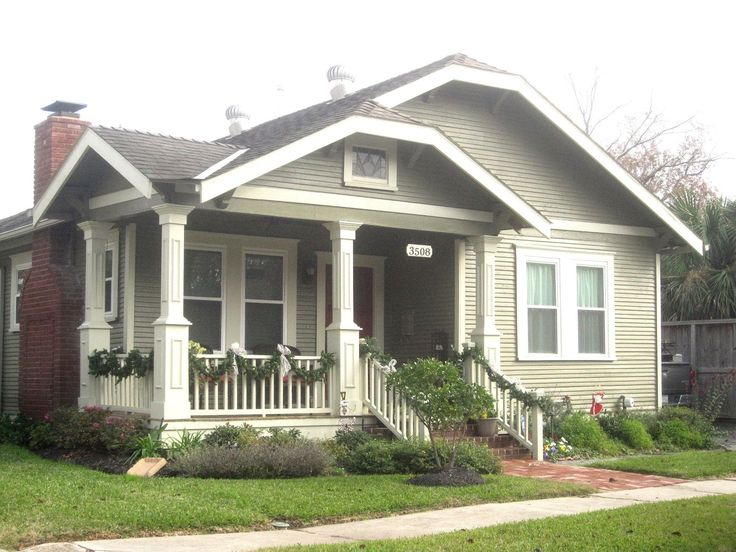 17 best images about houston heights neighborhood on for Bungalow roof styles