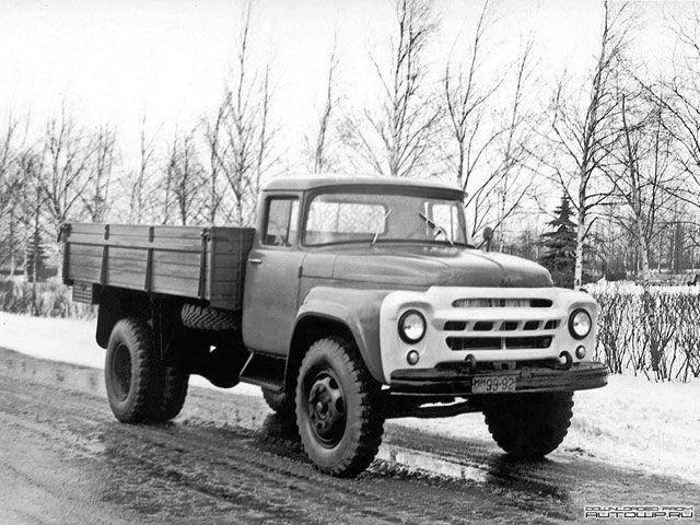 ЗиЛ 130 (4 Серия) Опытный (1961)