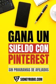 ¿Utilizas Pinterest a diario y no ganas dinero a …