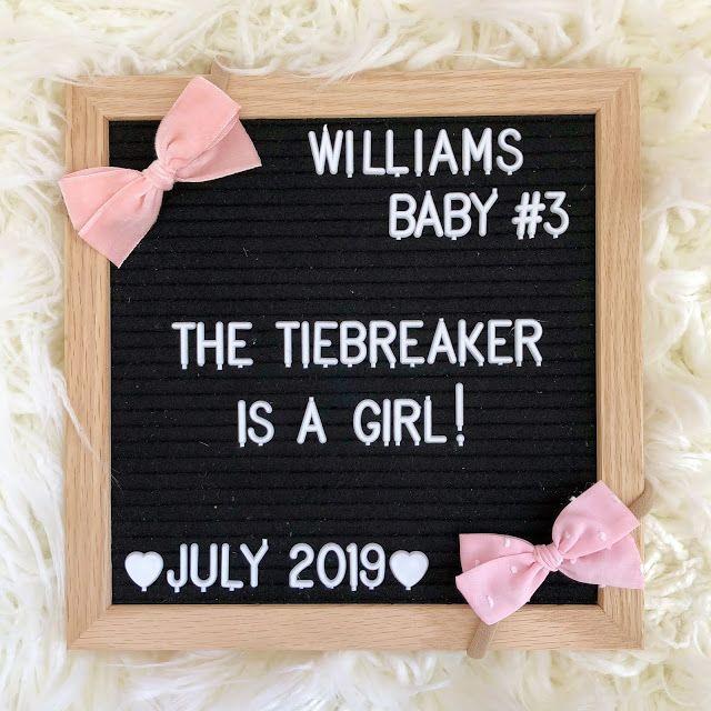 Tie Breaker Baby Bodysuit Tie Breaker Baby Announcement Gender Reveal Pregnancy Announcement Bodysuit Gender Neutral Due Date Bodysuit