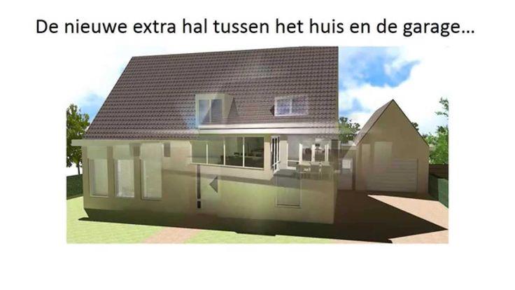 Ontwerp aanbouw, keukenontwerp en interieuradvies woonkamer - Sint Oeden...