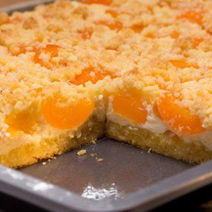 Schneller Quark-Streusel-Kuchen mit Obst