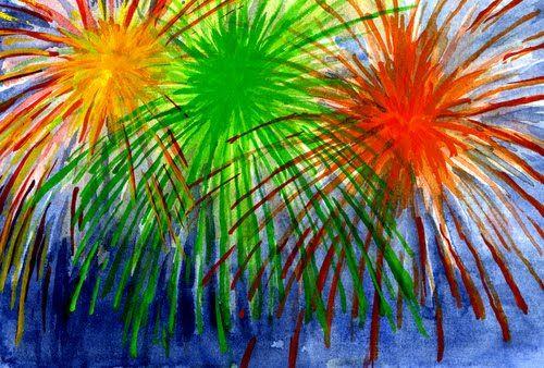 {firework art}