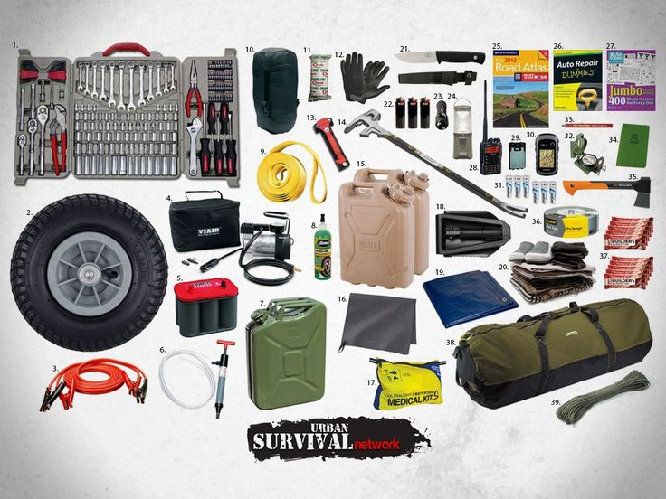 The Perfect Automotive Roadside Assistance Survival Gear For Your BOV (Bug Out Vehicle)