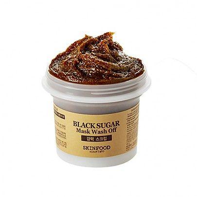 [Skinfood] Black Sugar Mask Wash off 100g