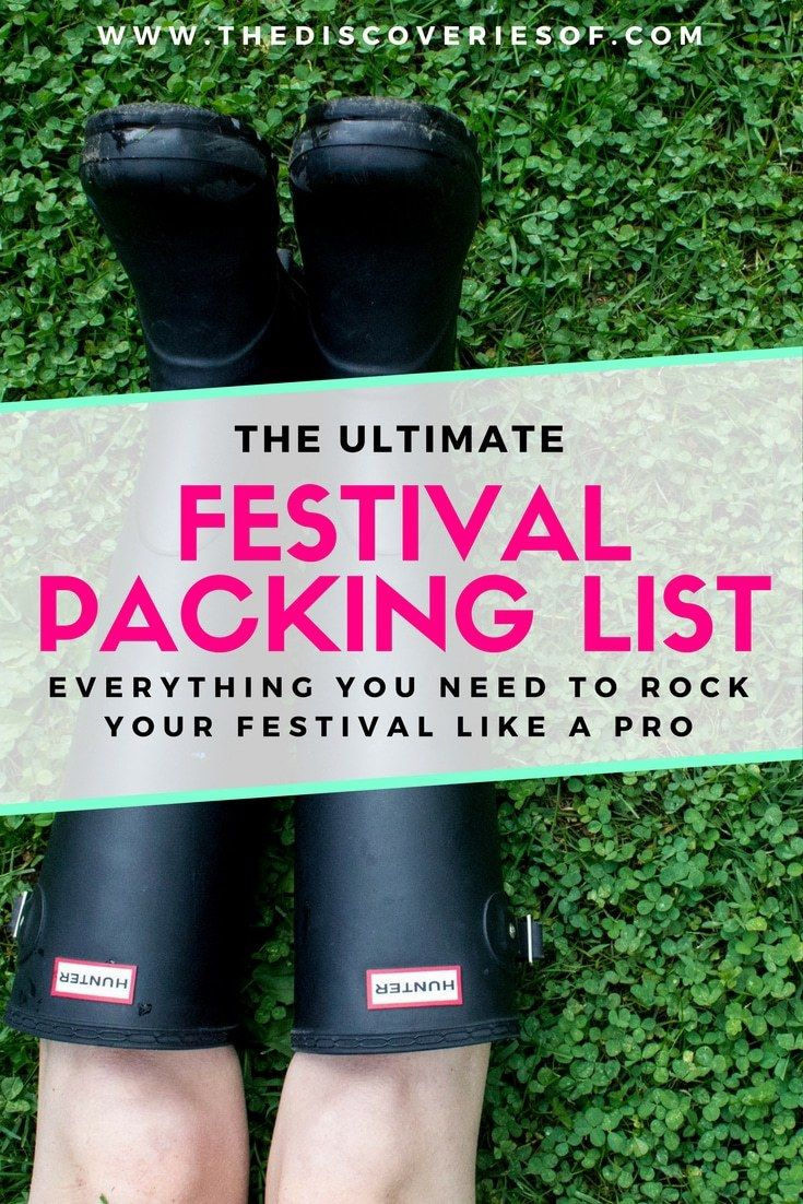 A festival packing list to help you rock your festival. Summer is all about music festivals. No need to worry about what to wear, we've got the packing list packed with hacks and products to have you doing it like a pro. Coachella + Burning Man style.
