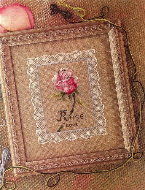 Handmade-kursy ,wzory ,tutoriale: Haft krzyżykowy-róże i nie tylko;)