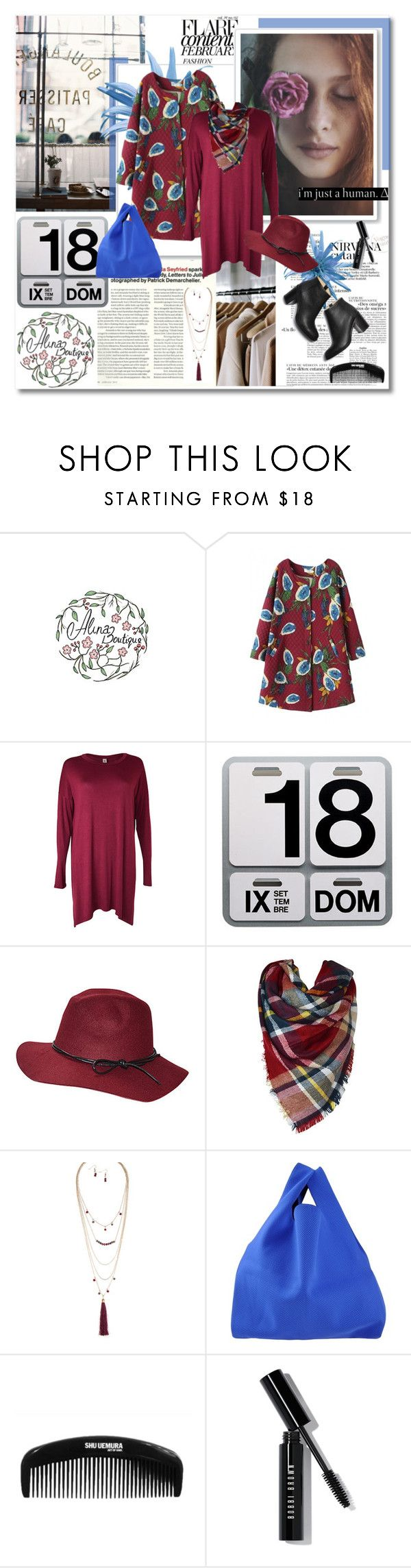 """""""Hello November - Alinaboutique.com"""" by undici ❤ liked on Polyvore featuring Danese, MM6 Maison Margiela, Paul Andrew and Bobbi Brown Cosmetics"""