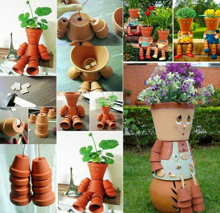 Decorazioni da Giardino con Vasi di Terracotta | MondoDesign.it