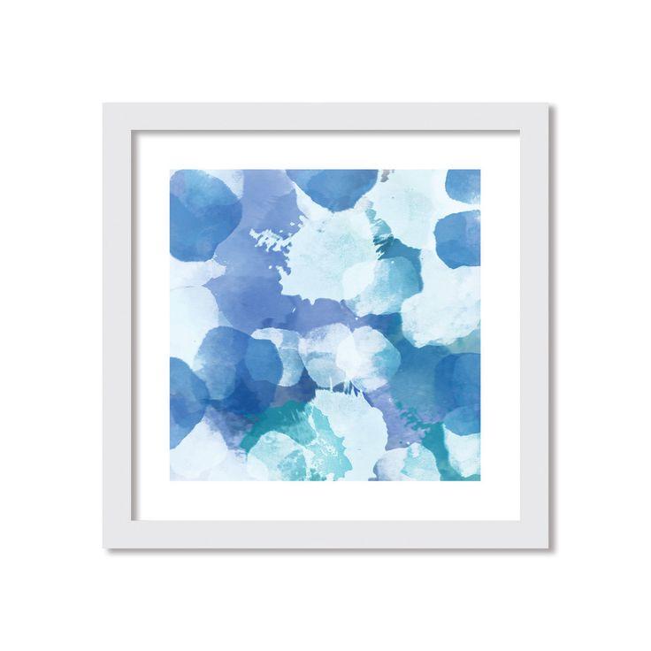 Deluxe Living - 'Bluebell' Watercolour Framed Artwork, $74.95 (http://www.deluxeliving.com.au/bluebell-watercolour-framed-artwork/)