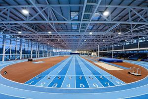 AIT international Indoor athletic track www.ait.ie