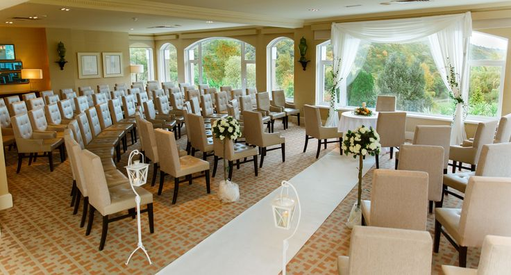 Stunning Civil Ceremony in Woodlands Restaurant