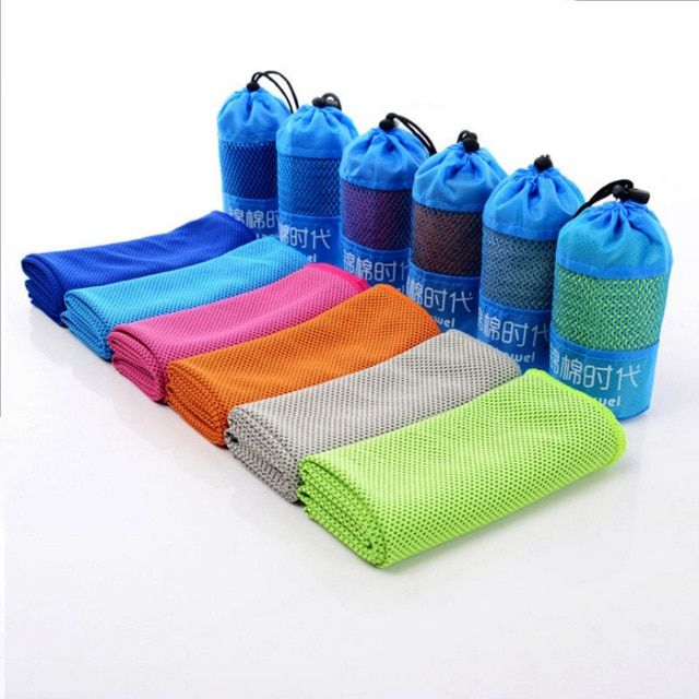 Cooling Towel Sport Towel Bamboo Towel Bottle Packet 100 30cm Quick Dry For Swimming Travel Gym Review Bamboo