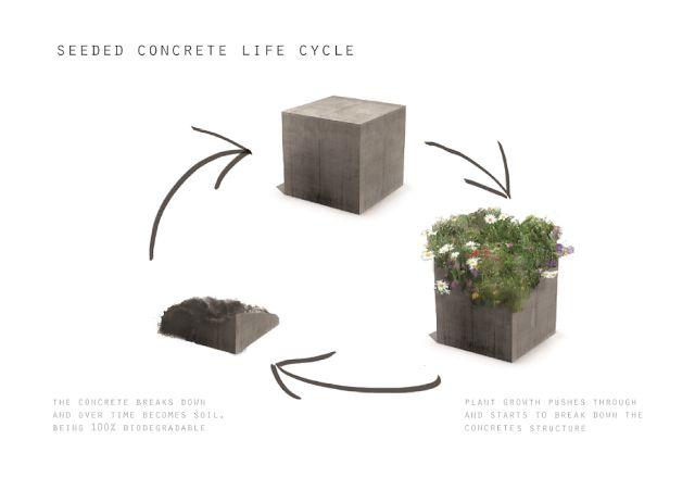 W-T-L.21: William Lee - Seeded Concrete