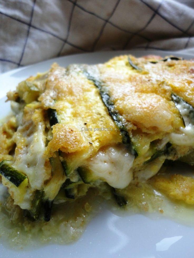 Parmigiana bianca di Zucchine (al vapore) | Clara pasticcia