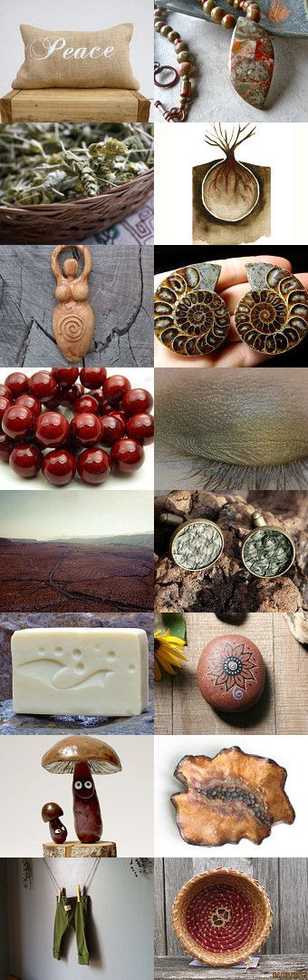 Of the #earth by #plantedfeet on Etsy--Pinned with TreasuryPin.com #christmas #gifts #natural #eco #holidays