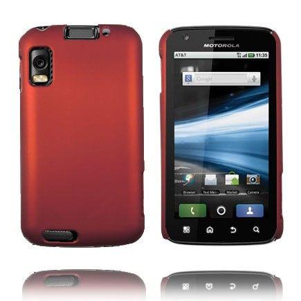 Hard Shell (Punainen) Motorola Atrix 4G Suojakuori