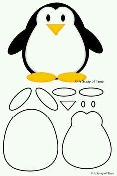 Выкройка пингвин