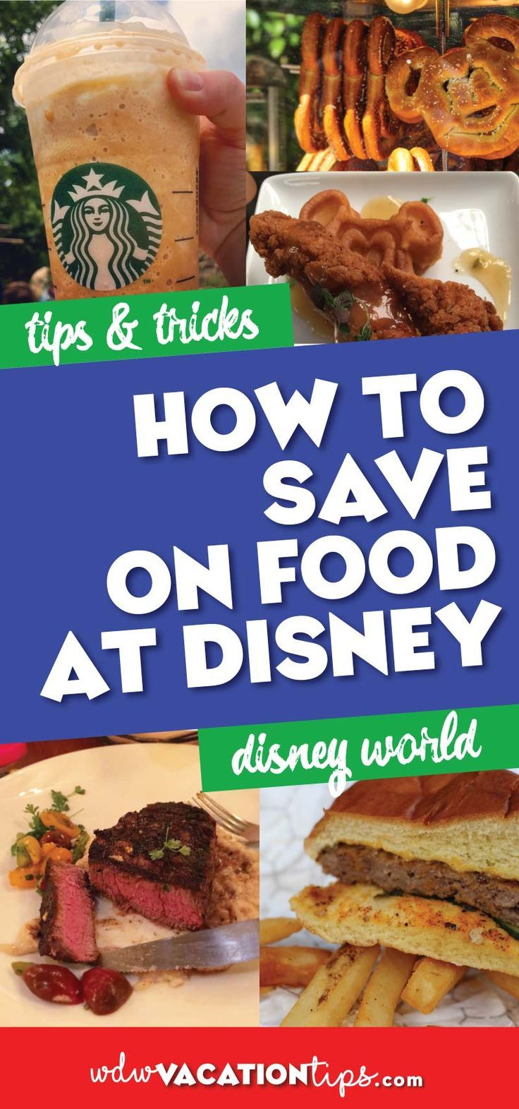 With ever increasing pricing on food at Disney, it's good to know a few tips and tricks that will save you some cash so you can bring home all those souvenirs you wanted. Here are our top money-saving tips for eating at Disney. #disneysnacks #disneydining #disneyfood #saveatdisneyworld