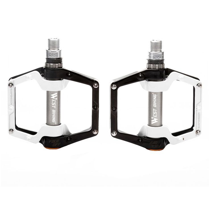 """West Biking Cycling Pedals Dead Fly Bicycle Pedals 9/16"""" Foot Pegs Outdoor Sports DHCrank MTB Road Bike Cycling Bicycle Pedals: Amazon.co.uk: Sports & Outdoors"""