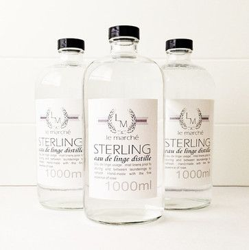 Sterling Rose Linen Spray by Le Marché Goods contemporary home fragrance