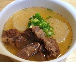 牛すね肉と大根のスープ煮のレシピ(圧力鍋使用)