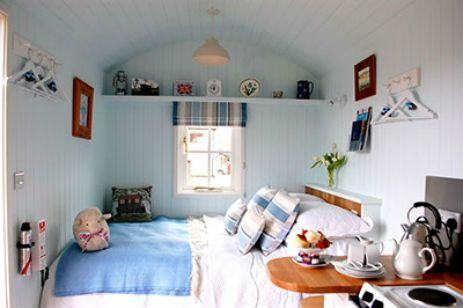 To Rest A While Shepherds Hut in Somerset