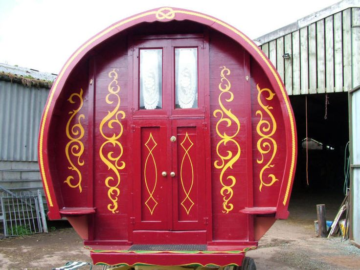 Gypsy Caravan Inspiration Potential Color Scheme Graphic