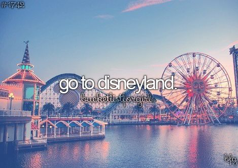 I think disney world and disney land are different right? Well i been to disney world so disney land here I come!!!!