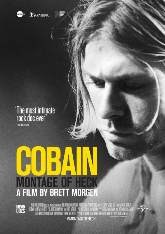 Cobain: Montage Of Heck A harrowing look at the life, art, music, and addictions of Kurt Cobain.