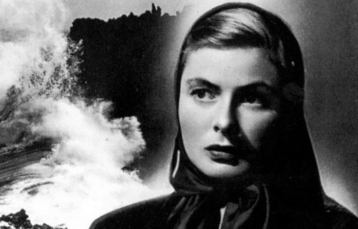 Roberto Rossellini made his first (and, as it turned out, last) Hollywood-backed film with Stromboli. The film became infamous in its time when word got out that Bergman was having an affair with Rossellini.