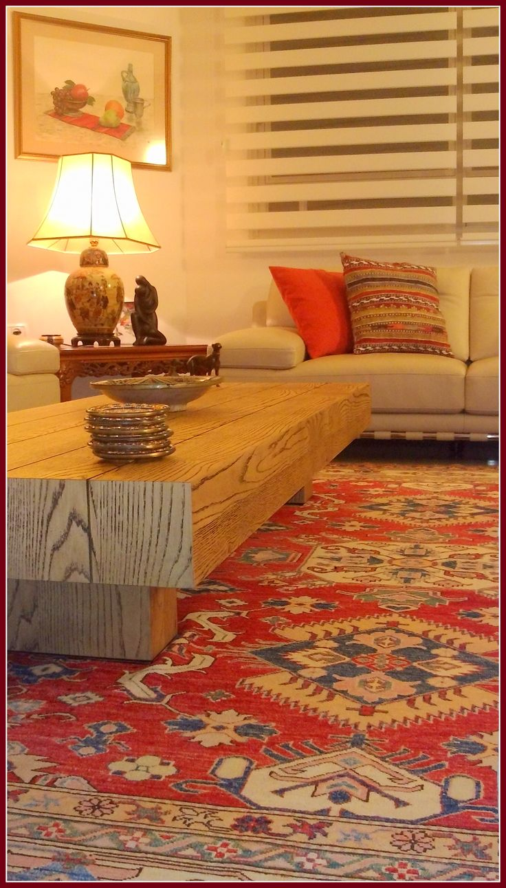 An ethnic living room