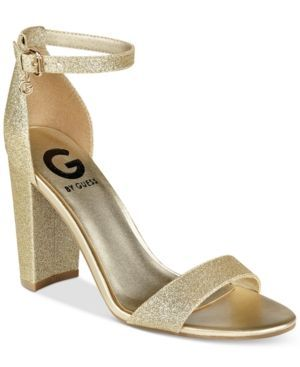 G by Guess Shantel Two-Piece Sandals - Gold 8.5M