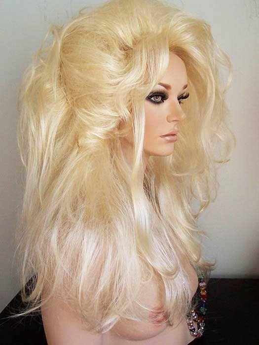 Pale Blonde Wig 92